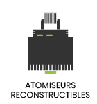 atomiseur reconstructible
